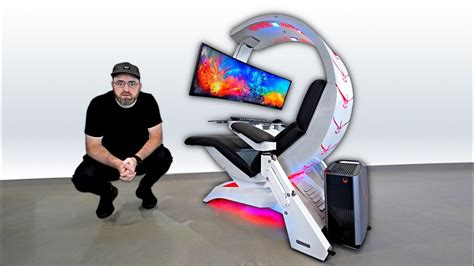 ultimate gaming chair setup the most workstation gaming setup