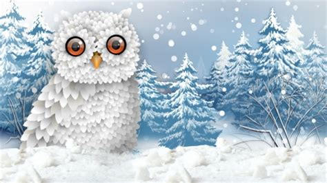 firefox themes owl snowy owl birds animals background wallpapers on