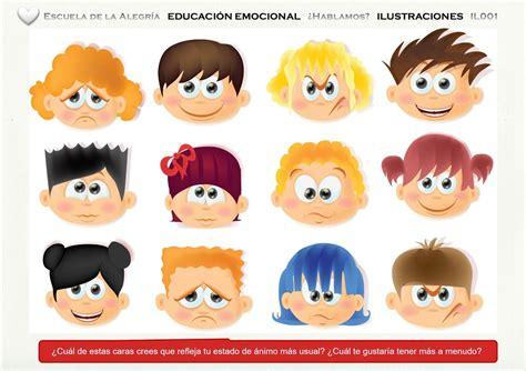 imagenes emociones resultado de imagen de recursos de emociones en infantil