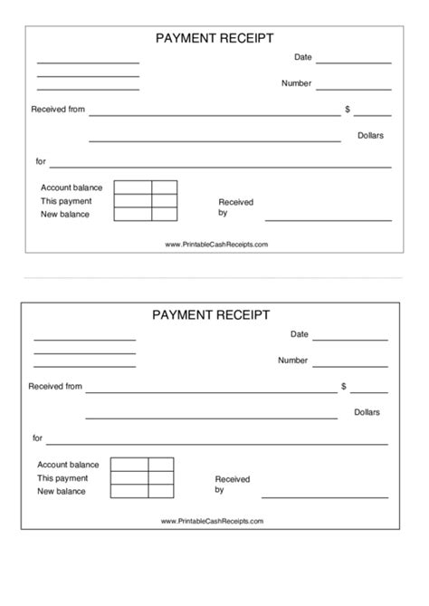 Generic Payment Receipt For Healthcare Fillable Pdf Templates by Top Generic Receipt Templates Free To In Pdf Format
