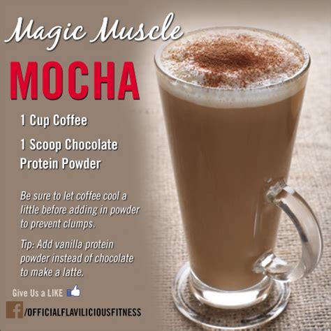 10 Da7 Detox Protein Shake Recipe by Tasty Thursday Magic Mocha Exercises For