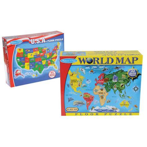 world  floor puzzles