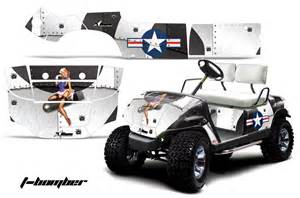 Golf Cart Wrap Template by Custom Yamaha Golf Cart Graphics Wrap Kits In 40