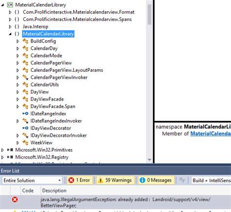 xamarin binding tutorial android xamarin binding project for android studio