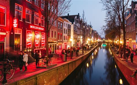 Amsterdam Search Amsterdam S Changing Light District Travel Leisure