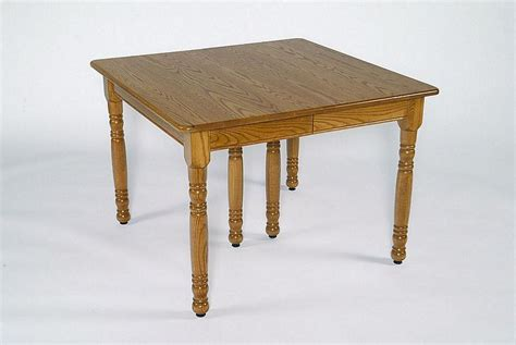 amish square farm table or shaker square dining table