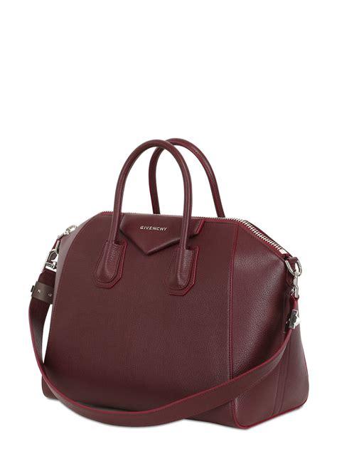 Givenchy Antigona Leather 61733 Leather lyst givenchy antigona leather tote in