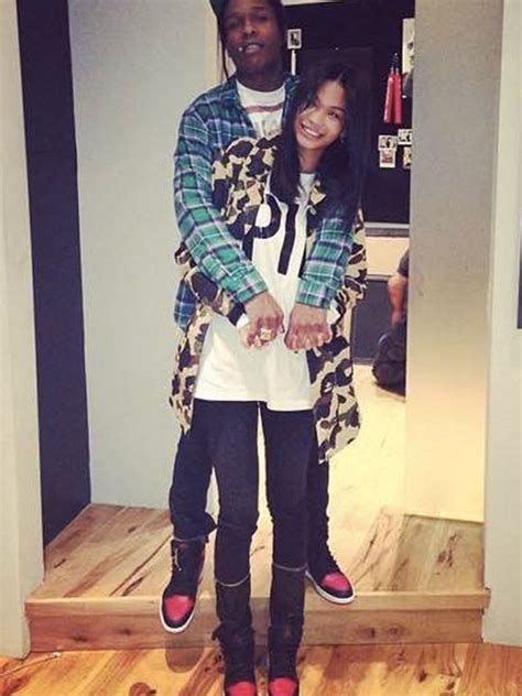 chanel iman on asap rocky a ap rocky cheating on kendall jenner rapper spotted with