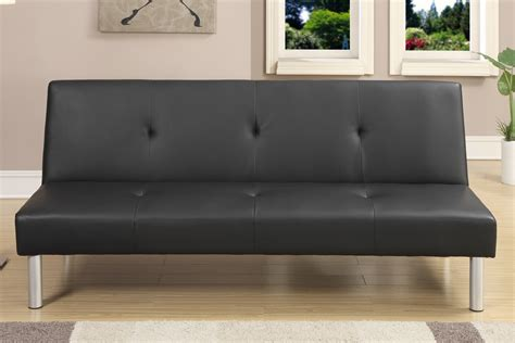 Living Room Sofa Bed Futons Sofa Beds Living Room Black Faux Leather Sofa Bed