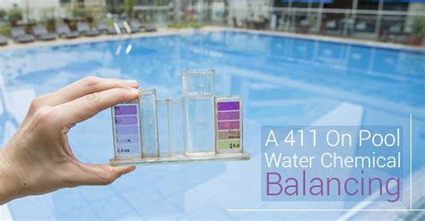 balancing your pool water what to about pool water chemical balancing
