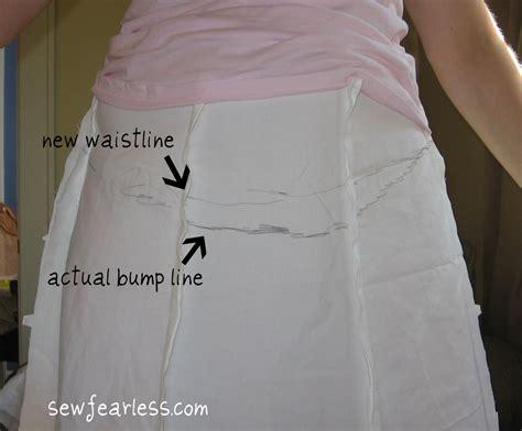 a line skirt pattern