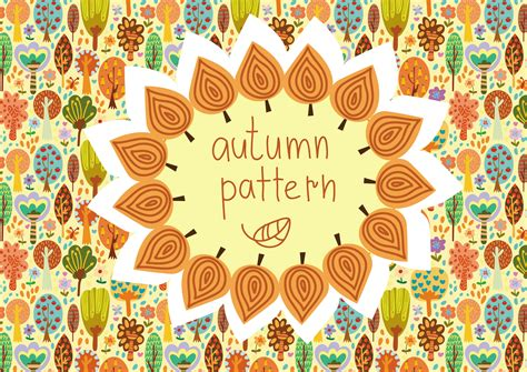 autumn pattern tumblr autumn cute pattern textures on creative market