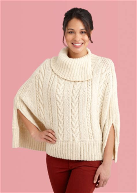 free knitting patterns for ponchos or capes knit the prettiest ponchos for fall free patterns