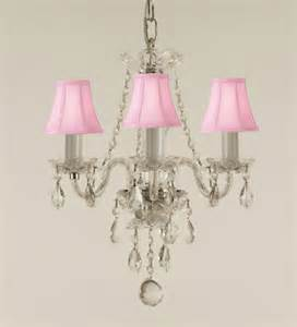 small pink chandelier gallery