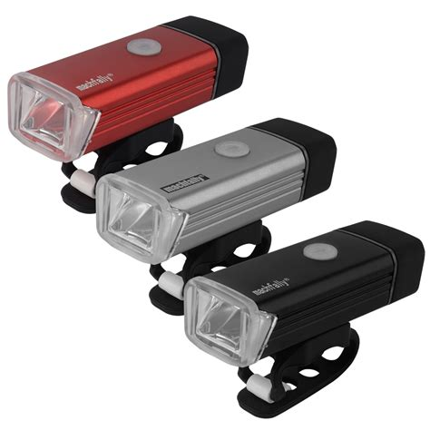 rechargeable led bike lights machfally 180lm cree bicycle bike front usb rechargeable