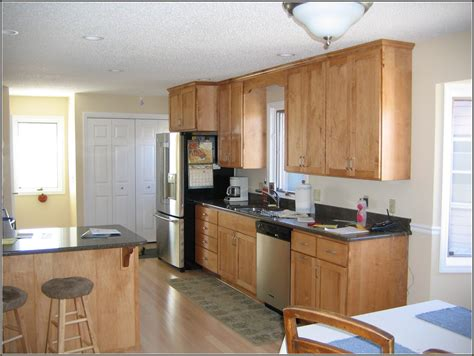what color to paint kitchen with light maple cabinets cabinets matttroy