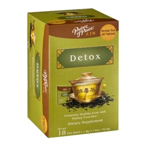 Will Green Tea Help Detox Thc by Tea Detox 18 Bags Prince Of Peace