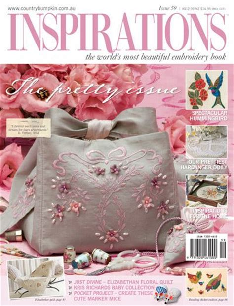 design in embroidery magazine inspirations the world s most beautiful embroidery