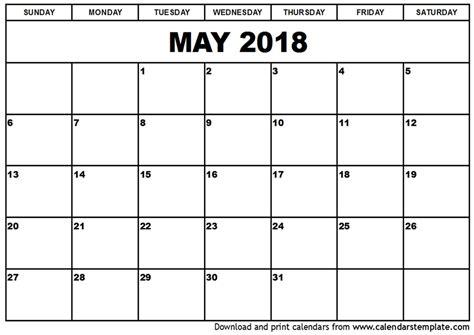 printable calendar may 2018 may 2018 calendar printable vertical happyeasterfrom com