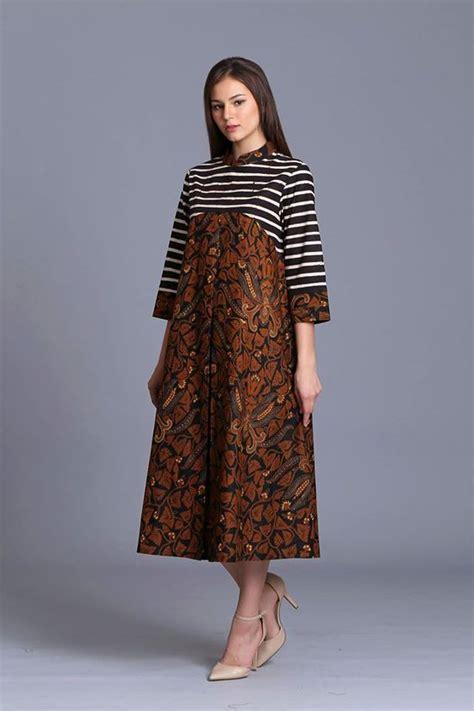 Gamis Fashion Elegan 50 model baju batik terbaru 2018 modern elegan