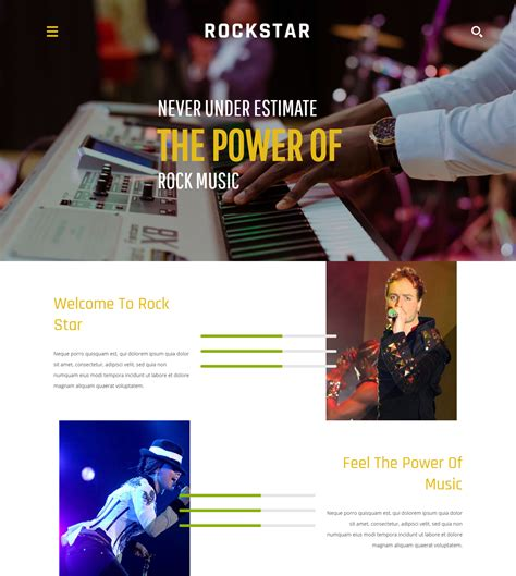 bootstrap templates for entertainment 20 best html templates for your entertainment websites