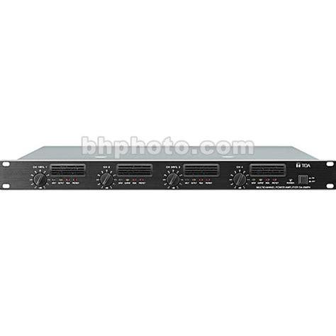 Lifier Toa 4 Speaker Toa Electronics Da 250f 4 Channel Digital Lifier Da 250f Cu