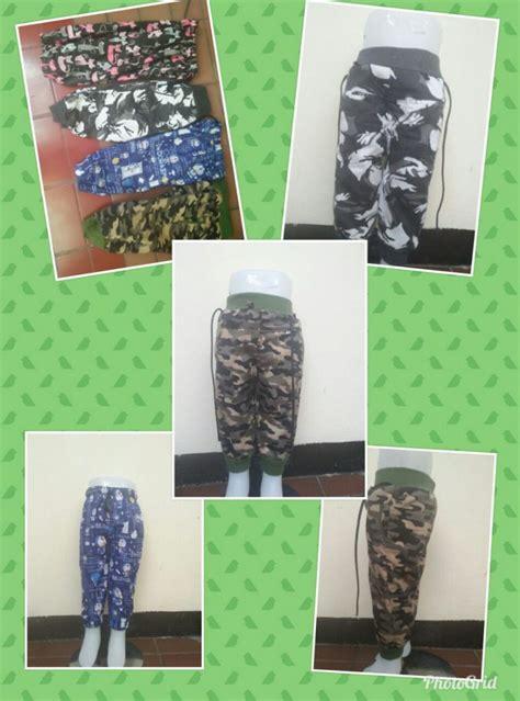 Celana Joger Anak By Tujuhwarna grosir celana jogger motif anak murah rp 17500