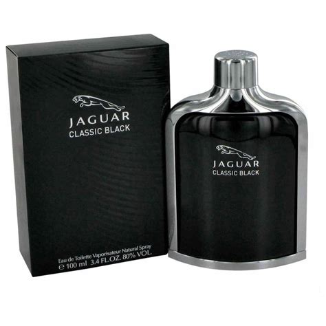 Jaguar For 100ml jaguar classic black eau de toilette 100ml spray mens