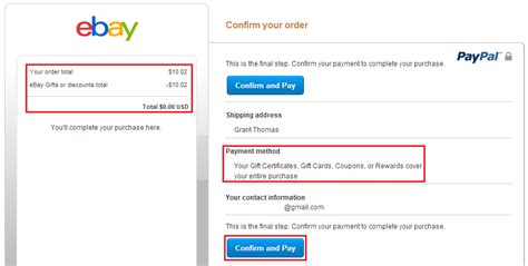 Ebay Gift Card Paypal - get 8 cash back on every ebay item you buy