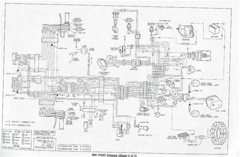 94 harley softail wiring diagram get free image about