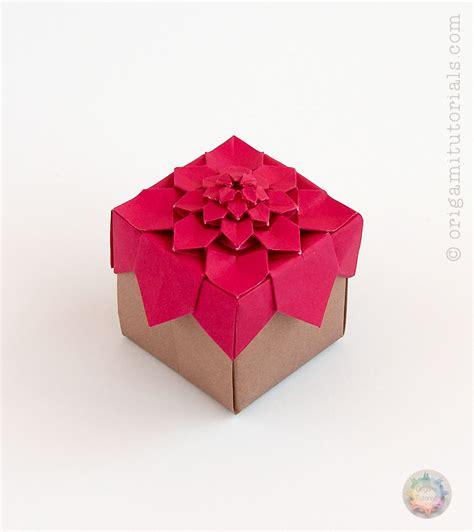 Boxes Origami - origami albers box origami tutorials