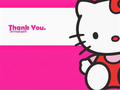 template powerpoint hello kitty 4 presentation pink free powerpoint templates and tutorials