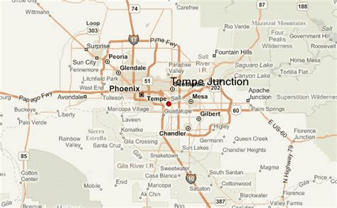 us map tempe arizona tempe junction location guide