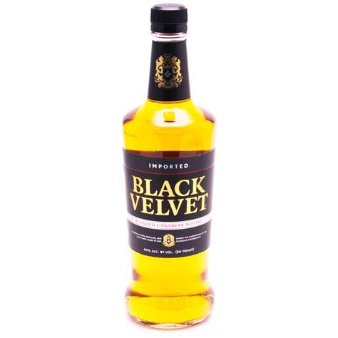 blended canadian whiskey black velvet blended canadian 750ml