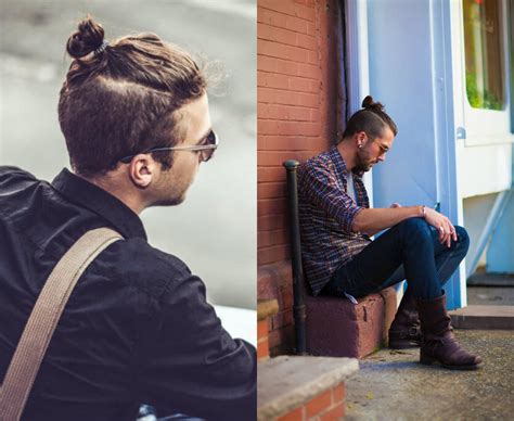 mens top knot undercut samurai knots hairstyles for men have become mass trend