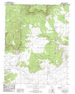 kaibab topographic map az usgs topo 36112h6