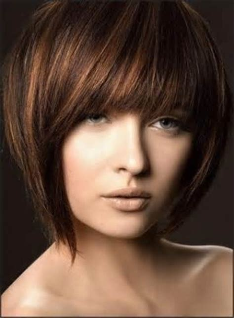 bob with heavy fringe thick fringe bangs inverted bob short haircuts bobs