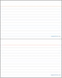 4x6 Index Card Template by Index Cards A Free Printable Index Card Template