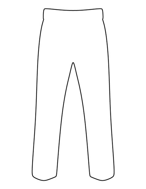 black and white pattern on clothes pants pattern use the printable outline for crafts