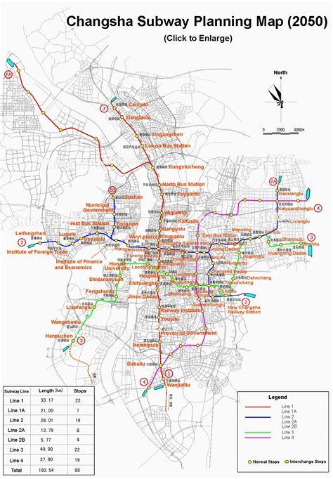 Changsha Maps - ChinaTour360.com