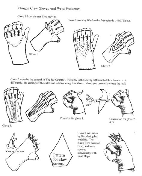 How To Make A Paper Glove - makingscratch