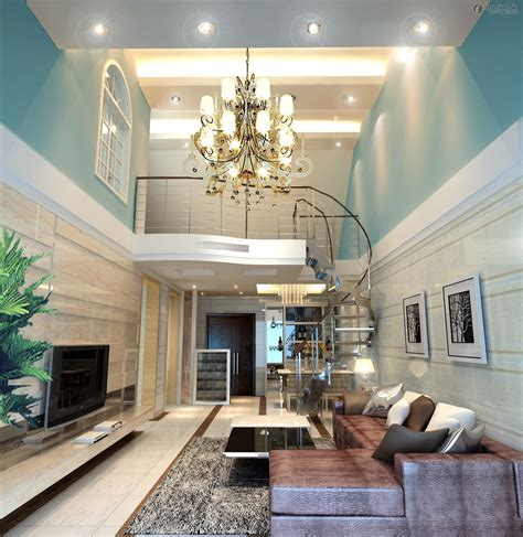 interior ceiling designs for home home interior with high ceiling design and grand chandelier also spiral glass staircase stunning