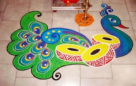 15 best on design images 15 peacock rangoli designs for diwali image fullimage