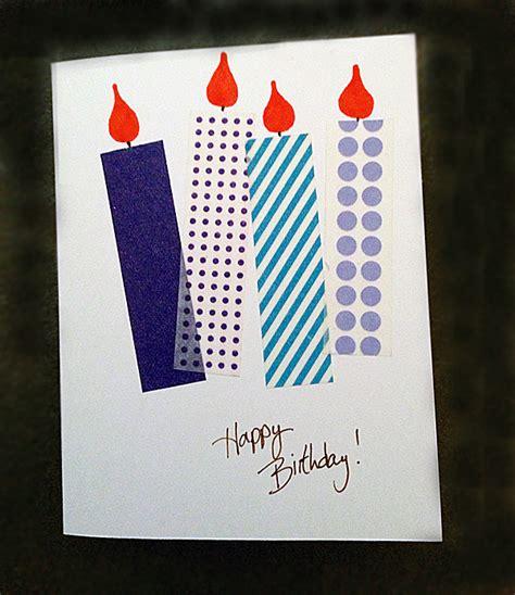 washi card crafts on the cheap washi cards