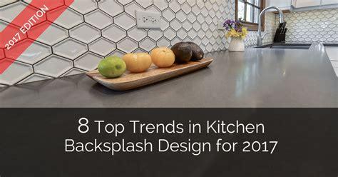 8 Top Trends in Kitchen Backsplash Design for 2017   Home