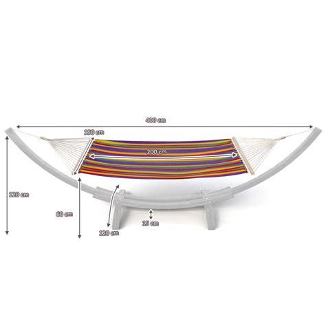 Toile Pour Hamac by Toile De Rechange Pour Hamac 4 00 M Multicolore