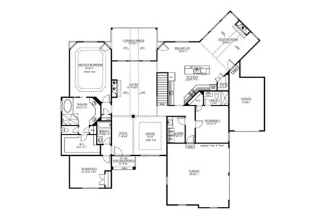 home plans with in suite
