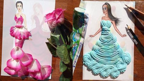 design clothes in real life real life objects used as playful ingredients for fabulous