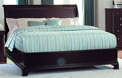 California King Sleigh Bed Inglewood Cal King Sleigh Bed From Homelegance 1402lpk 1ck Coleman Furniture