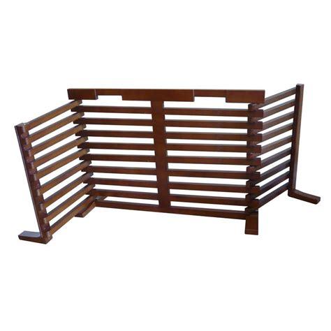 expandable gate shop merry pet 40 in w freestanding wood expandable pet